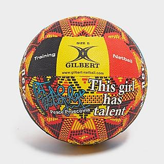 Gilbert balón de netball Peace Proscovia Signature