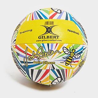 Gilbert balón de netball Jodie Gibson Signature
