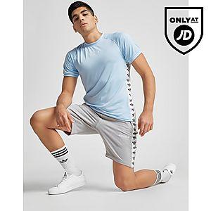 new style c1c7d e90fe adidas Originals Tape Shorts ...