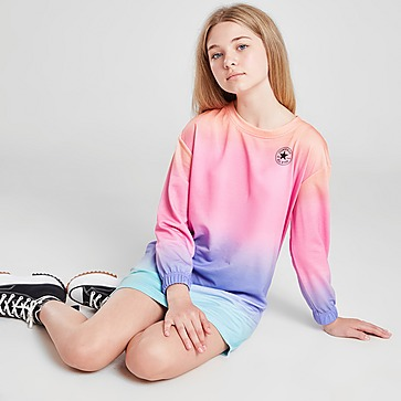 Converse Girls' Ombre Long Sleeve Dress Junior