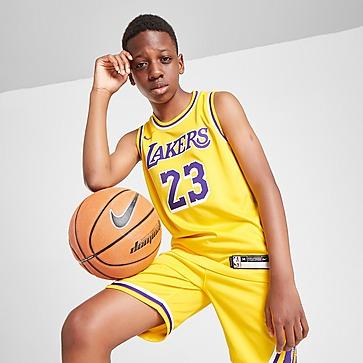 Nike NBA LA Lakers James #23 -pelipaita Juniorit