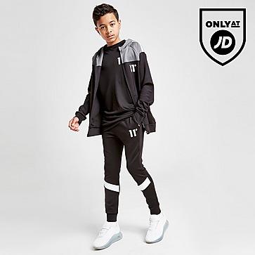 11 Degrees Cut & Sew Poly Track Pants Junior