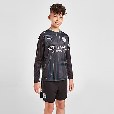 PUMA Manchester City FC 2021/22 GK maalivahdin kotipelishortsit Juniorit