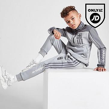 adidas Originals ID96 1/4 Zip Track Top Children