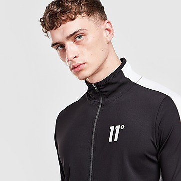 11 Degrees Poly Full Zip Track Top