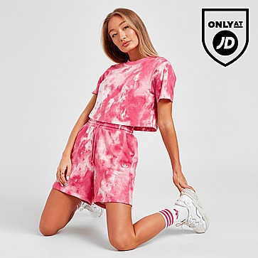 adidas Originals Tie Dye Boyfriend Shorts