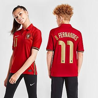 Nike Portugal 2020 B.Fernandes #11 -kotipelipaita Juniorit