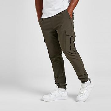 Brave Soul Cuffed Taslan Cargo Pants