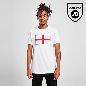 JD England Flag -t-paita Miehet