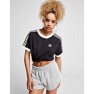48f66cf5fb adidas Originals T-shirt 3-Stripes California Femme ...