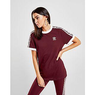 Adidas Originals t shirt california pour hommes en rouge