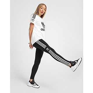 adidas Originals Grande taille Femme Blanc T shirt Roll Up