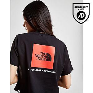 463861b9ef The North Face Crop T-shirt Box Logo Femme ...