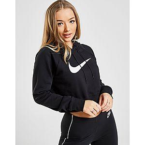 021de99e8a Nike Swoosh Overhead Crop Sweat à Capuche Femme ...