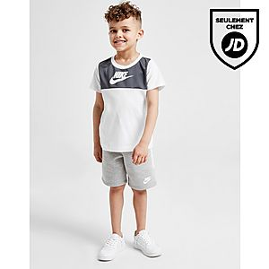 96ad6ca72ffdf Nike Ensemble T-shirt Short Hybrid Enfant ...