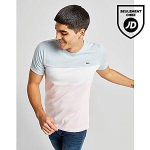 e34e6d2547 Lacoste T-Shirt Tri Colour Block Homme ...