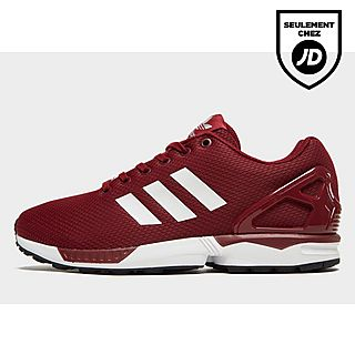 adidas homme zx flux rouge