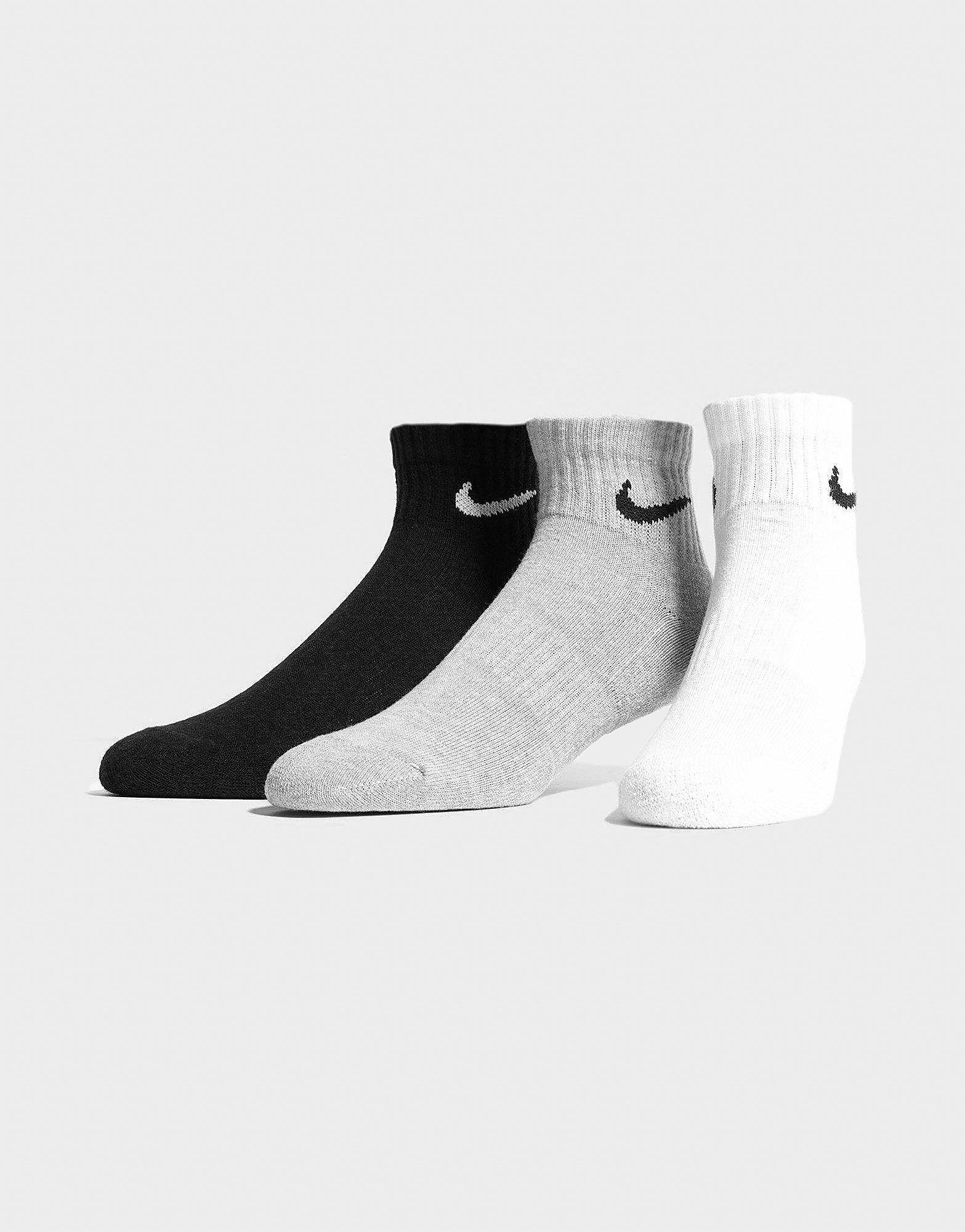 Nike Lot de 3paires de socquettes de sport
