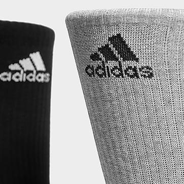 adidas Lot de 3 paires de chaussettes Crew Homme