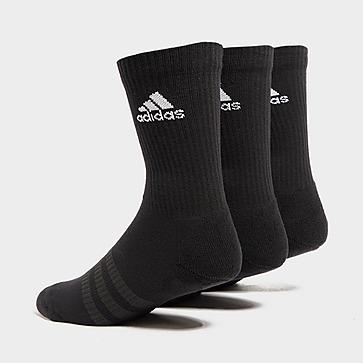 adidas Lot de 3 paires de chaussettes Homme