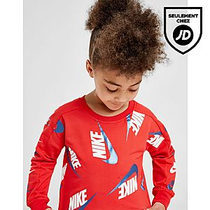 3426ac78cd ... Nike Ensemble Fille T-shirt/Legging Imprimé Shine Crew Enfant