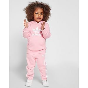 8ba0575f18dd8 adidas Originals Ensemble de Survêtement à Capuche Adicolour Fille Bébé ...