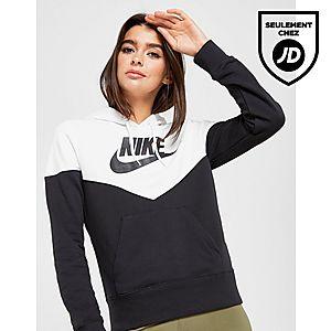 1d2e332e09 Nike Sweat à capuche Colour Block Heritage Femme ...