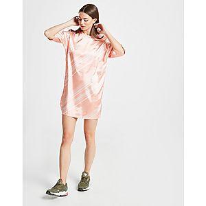 a279e1c4b54e9e ... adidas Originals Robe T-shirt Satin Imprimée Femme achat ...