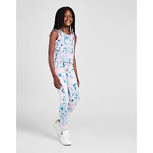 online retailer 903b7 22db8 adidas Originals Legging Fille Imprimé Marbre Junior adidas Originals  Legging Fille Imprimé Marbre Junior