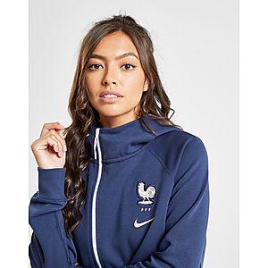7046215e3b119 Nike Sweat à capuche Polaire Cape France WWC Tech Femme ...