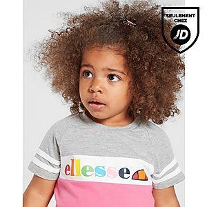 0942844b49add ... Ellesse Ensemble Fille T-Shirt Short Amapola Bébé