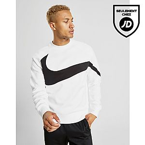 San Francisco 3b76d 120fa Nike Sweat-shirt Swoosh BB Crew Homme