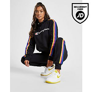 Capuche Tape Sweat Champion Femme À Boyfriend Rainbow SqMVzGpLU