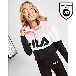 magasin en ligne mode attrayante super service Fila Sweat à capuche Colour Block Crop Femme