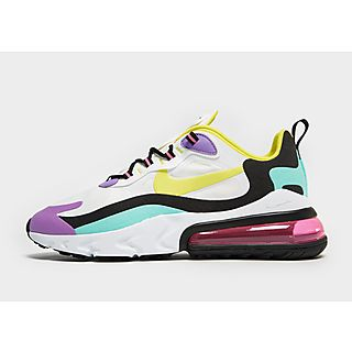 Nike Air Max 90 Nike Fille Trainers Fille BlancJauneRouge