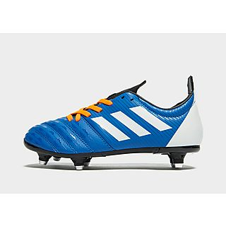 Chaussures rugby Adidas Malice SG enfant jaune