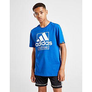 half off a4e83 4fd0b adidas Badge of Sport Outline T-Shirt Junior ...
