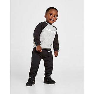 Veste Adidas 12 18 mois noire et blanche