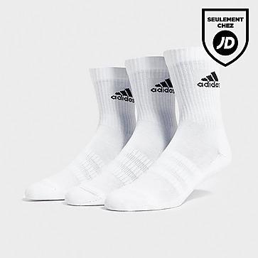 adidas 3 paires de chaussetttes mi-longues