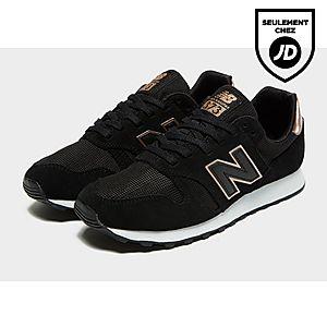 new balance 373 femme noir or