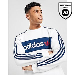 adidas Originals Sweat shirt Linear Crew Neck Homme