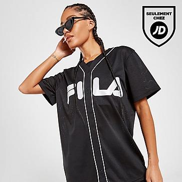 Fila T-Shirt Mesh Baseball Femme
