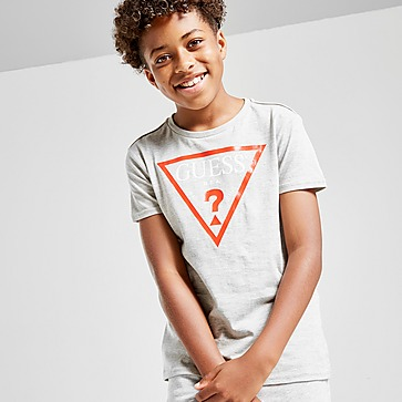 GUESS T-Shirt Triangle Logo Manches Courtes Junior