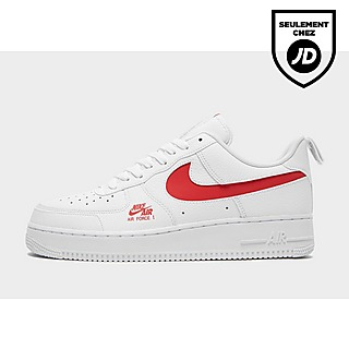 air force 1 utility rouge homme