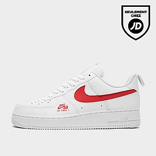 nike air force 1 essential jewel homme rouge