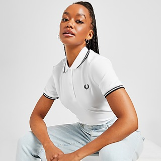 Fred Perry Polo Twin Tip Femme