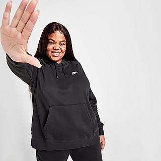 Nike Sweat à capuche en tissu Fleece Nike Sportswear Essential pour Femme (grande taille)
