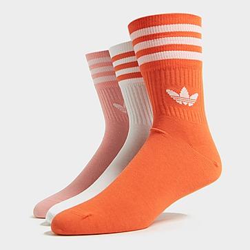 adidas Originals 3 paires de chaussettes Pack Crew Homme