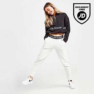 Calvin Klein Pantalon de survêtement Tape Fleece Femme