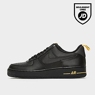 air force 1 noir et or